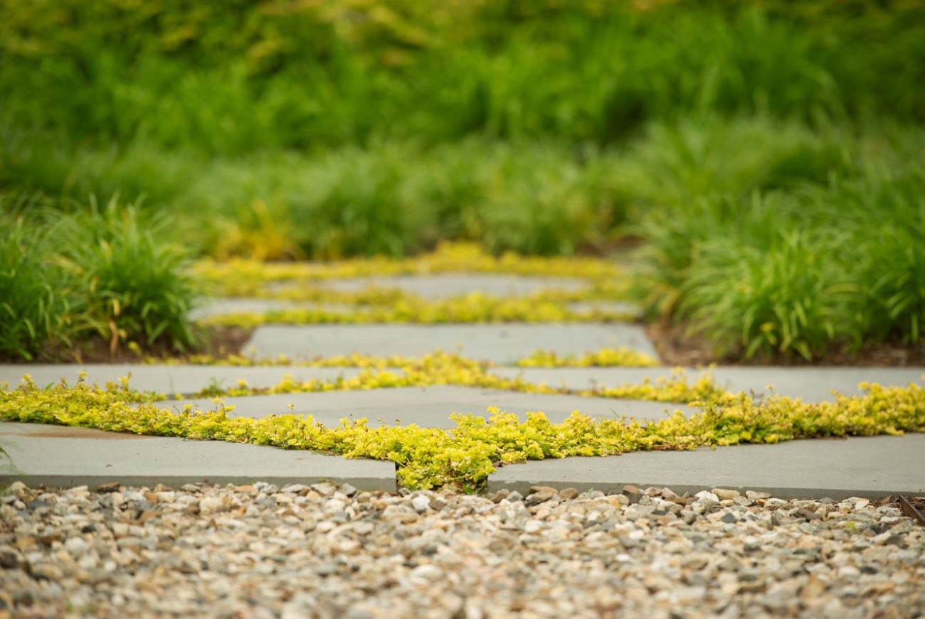 The LaurelRock Company - Residential Landscaping in CT - Green Farms - Garden Pavers and Stone