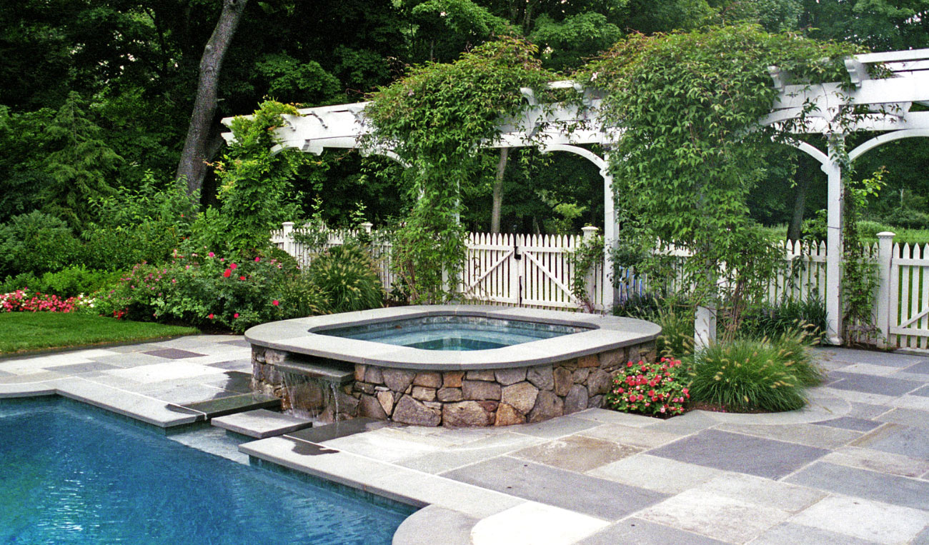 The waterline tile, which is located just below the coping or deck, is typically the first element that you see when looking at your pool.