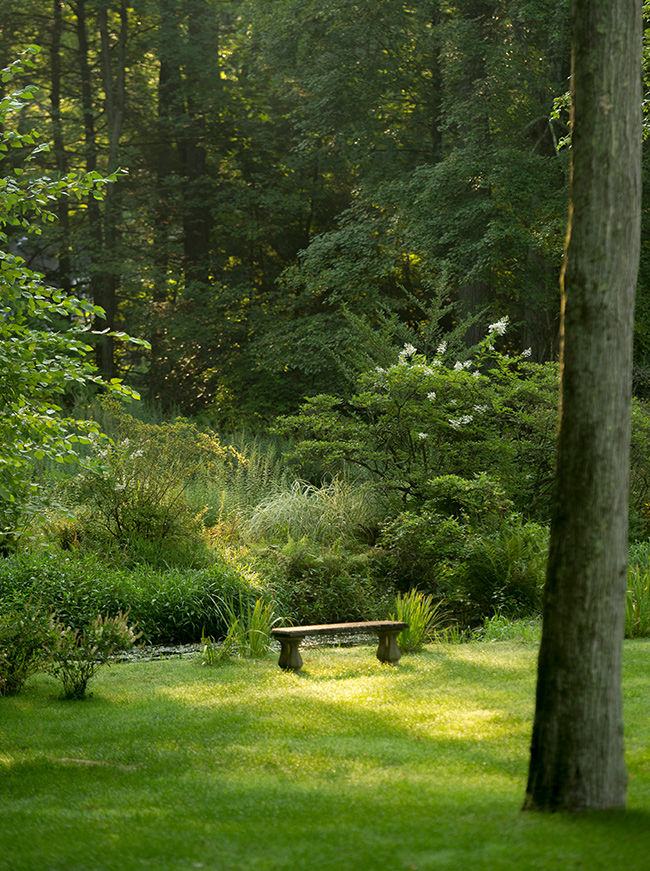 The LaurelRock Company - Residential Landscaping in CT - Back Country Manor - Hidden Garden