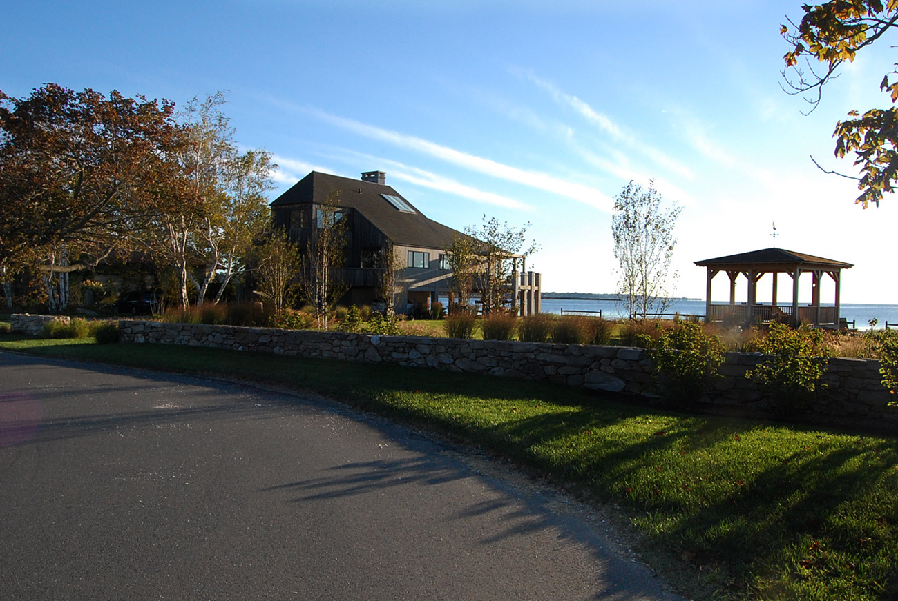 The LaurelRock Company - Residential Landscaping in CT - Bluff Point - Landscaping
