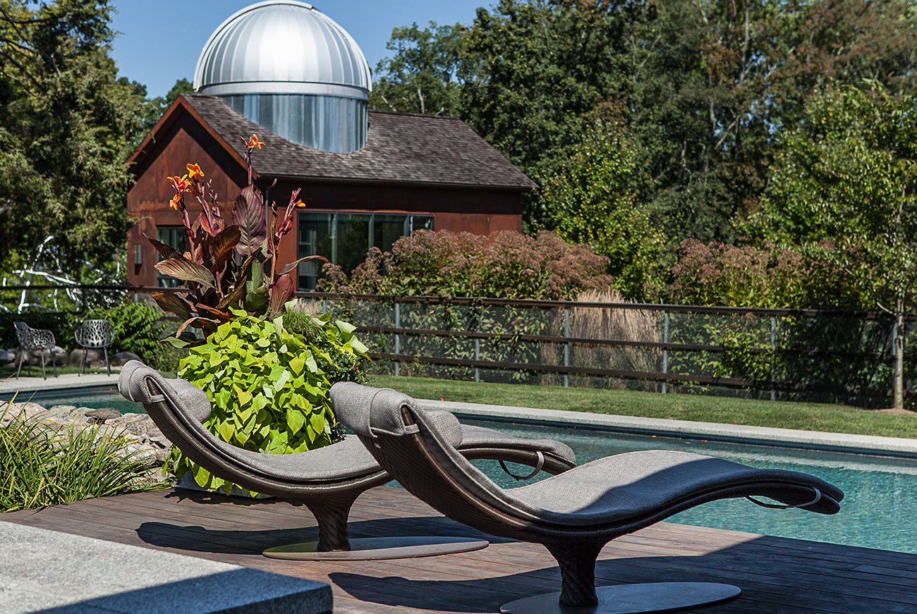 The LaurelRock Company - Residential Landscaping in Wilton CT - High Meadow Farm - Poolside Paradise